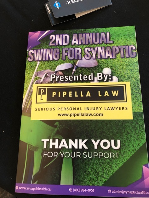 pipilla Swing for Synaptic Golf Tournament