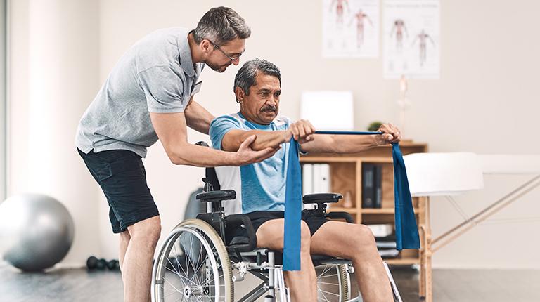 Paraplegia Injury Rehabilitation